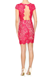 luxxel Scarlet Lace Mini Dress - Side cropped