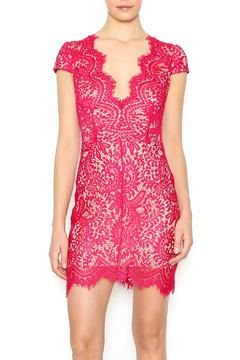 Shoptiques Product: Scarlet Lace Mini Dress