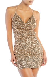 luxxel Sequin Mini Dress - Front cropped