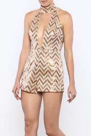 luxxel Sequin Romper - Product Mini Image