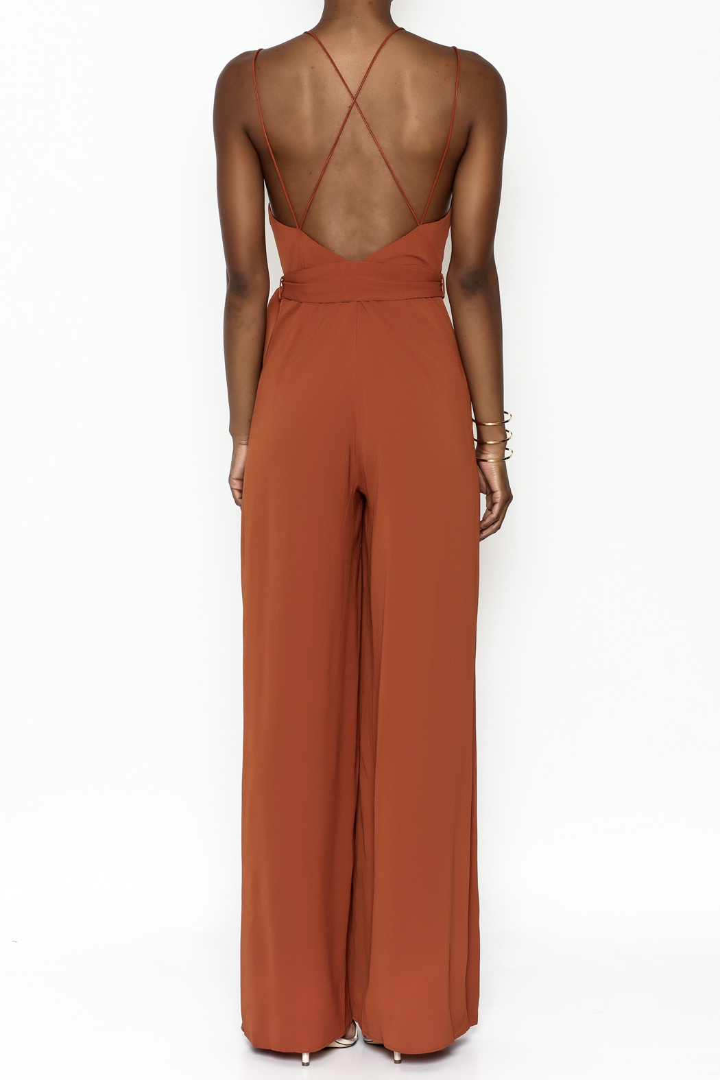 luxxel Strappy Jumper - Back Cropped Image