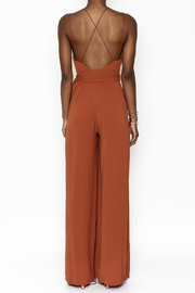 luxxel Strappy Jumper - Back cropped