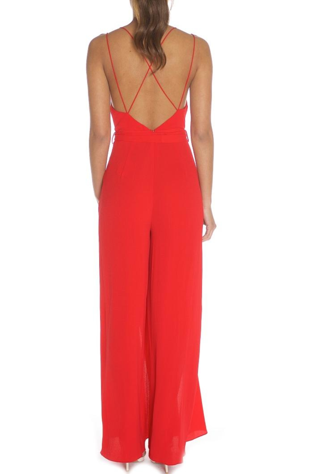 luxxel Strappy Jumpsuit - Front Full Image