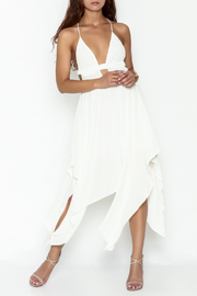 luxxel White Strappy Maxi Dress - Product Mini Image