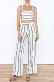 luxxel Stripe Pant Set - Product Mini Image