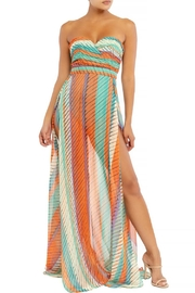 luxxel Stripe Slit Maxi - Product Mini Image