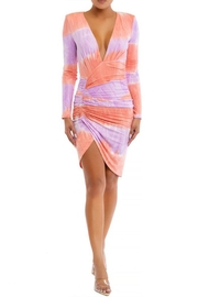 luxxel Tie Dye Mini-Dress - Product Mini Image