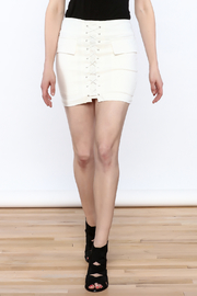 luxxel Tie Up Mini Skirt - Product Mini Image