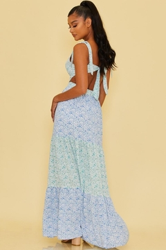 luxxel Tiered Floral Maxi - Alternate List Image