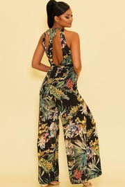 luxxel Tropical Jumpsuit - Front full body