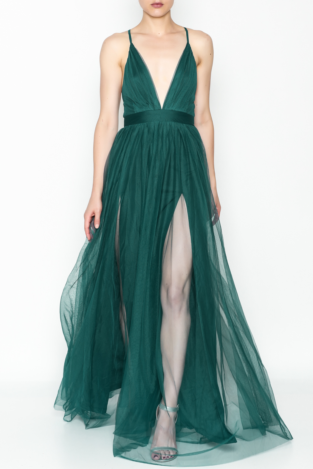 luxxel Tulle Maxi Dress from New York City by Dor L\'Dor — Shoptiques