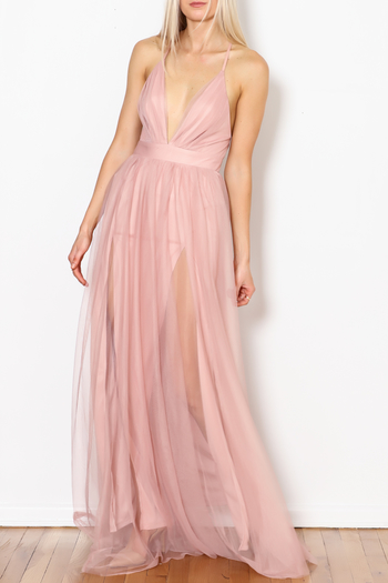 luxxel Tulle Maxi Dress from New York City by Dor L'Dor — Shoptiques
