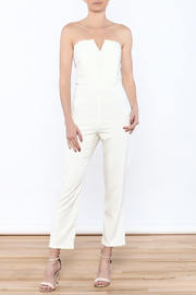 luxxel V Top Jumpsuit - Product Mini Image