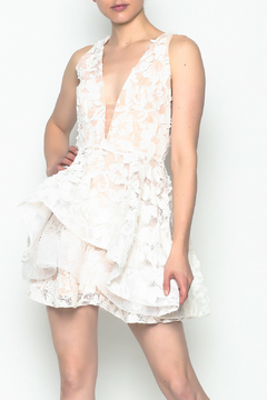 Shoptiques Product: White Layered Dress