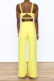 luxxel Bright Yellow Matching Set - Back cropped