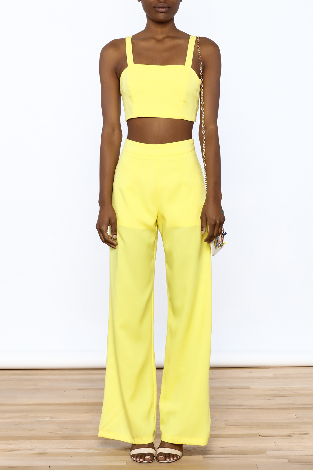 luxxel Bright Yellow Matching Set - Front Cropped Image