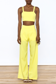 luxxel Bright Yellow Matching Set - Front cropped