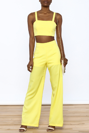 luxxel Bright Yellow Matching Set - Front full body