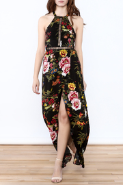 luxxel Floral Halter Maxi Dress - Product Mini Image