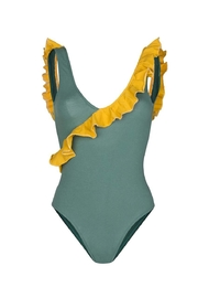 LUZ COLLECTION Julia Green Swimwear - Front cropped