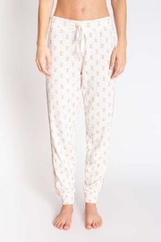 PJ Salvage LV Love Bandage Pant - Front full body