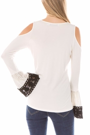 Vava by Joy Hahn Lydia Bell-Sleeve Top - Side cropped