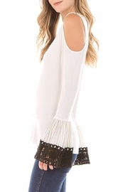 Vava by Joy Hahn Lydia Bell-Sleeve Top - Front full body