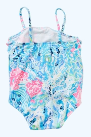 Lilly Pulitzer Lydia Infant Swimsuit - Front full body