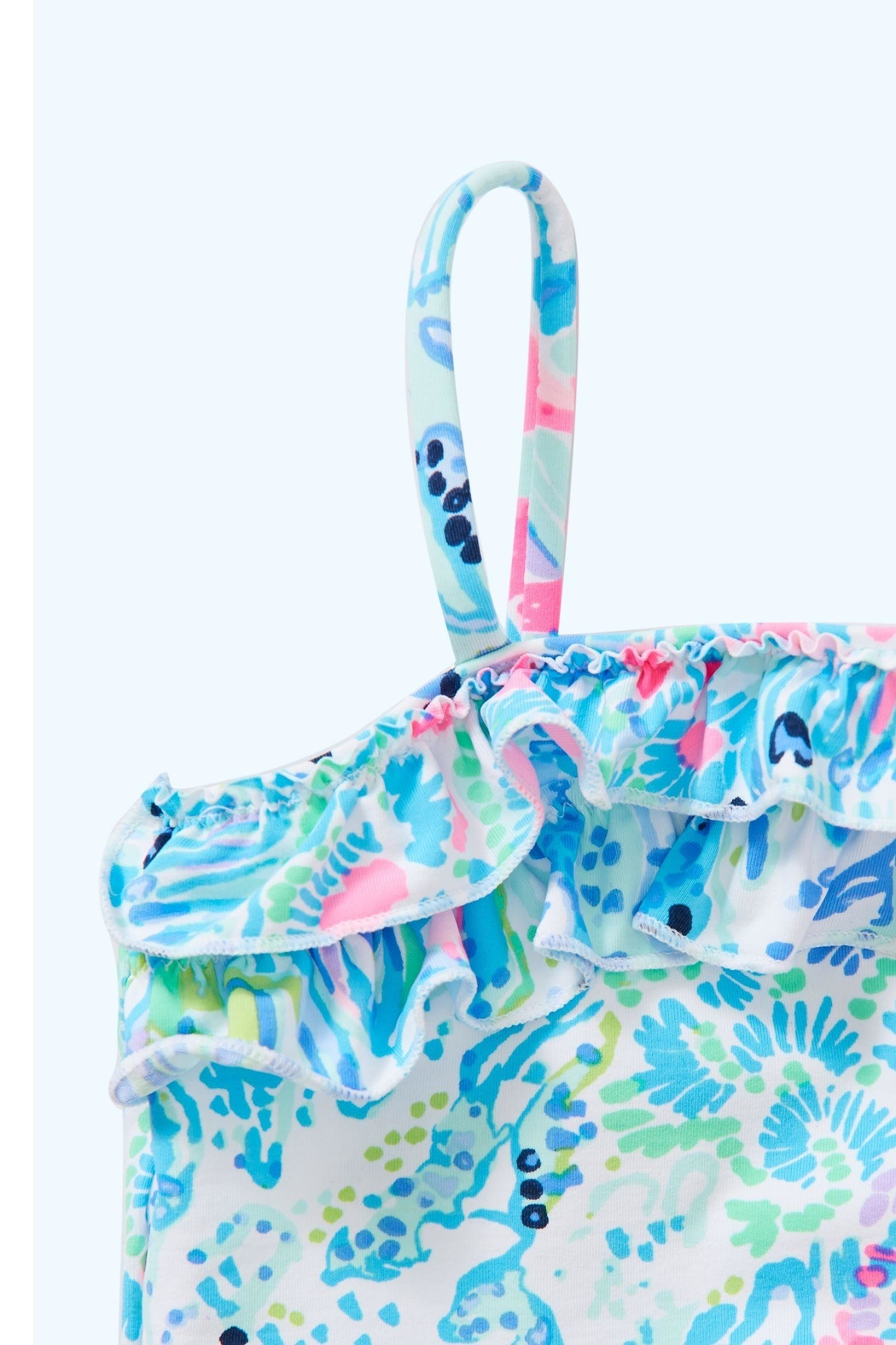 Lilly Pulitzer Lydia Infant Swimsuit - Side Cropped Image