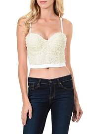 Lydia Pearl Crop Top - Product Mini Image