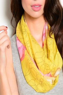 Shoptiques Product: Flower Power Scarf
