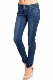 Lydia's Beryl Kaba Blue Jeans - Front cropped
