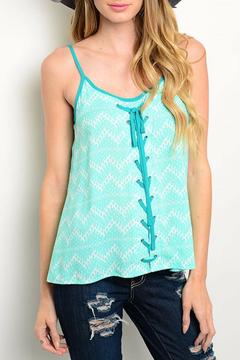 Shoptiques Product: Minty Breeze Top