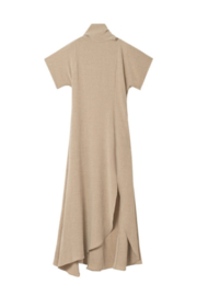 Rodebjer Lye Malfile High Neck Slit Midi Dress - Product Mini Image