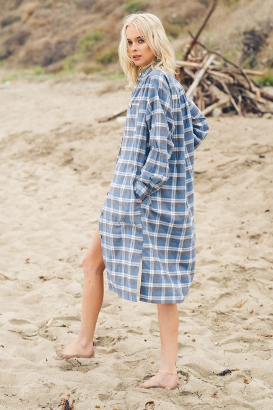 Listicle Layered in Plaid - Main Image