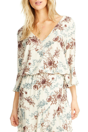 Saltwater Luxe Lyla 3/4 Bell Sleeve Blouse - Front cropped