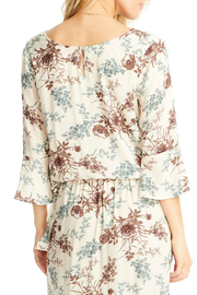 Saltwater Luxe Lyla 3/4 Bell Sleeve Blouse - Side cropped