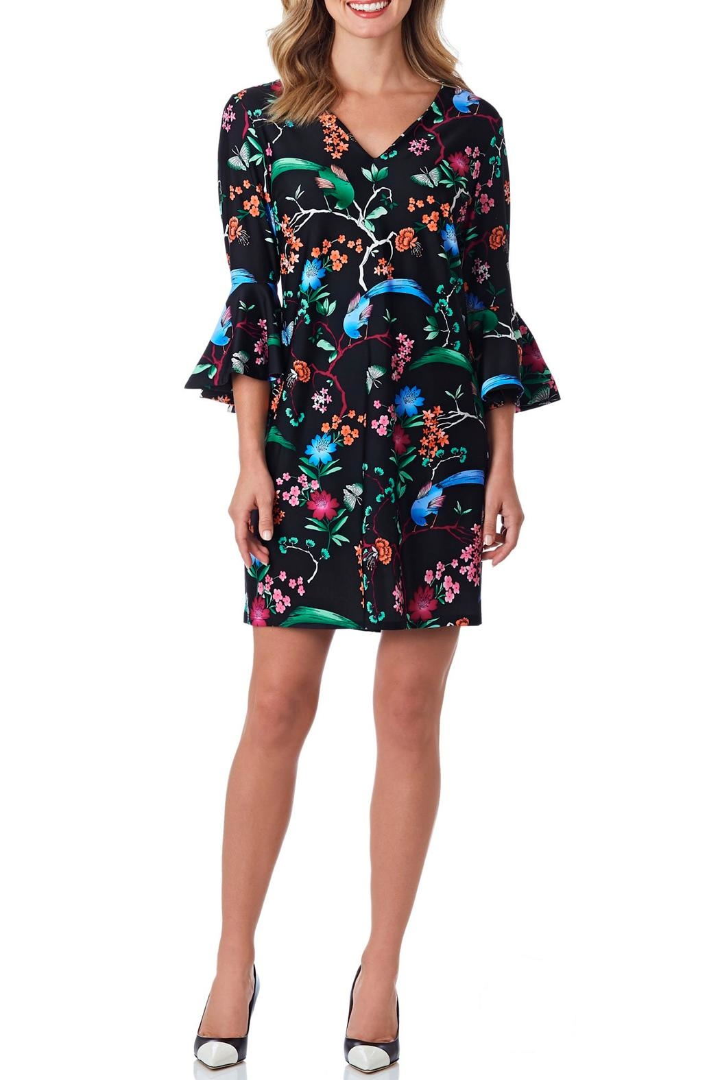 Jude Connally Lyla Flutter-Sleeve Dress - Main Image