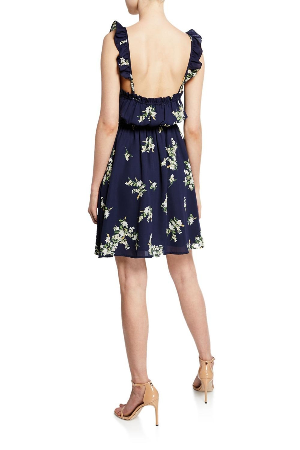 Cupcakes & Cashmere Lynette Floral Dress - Front Full Image