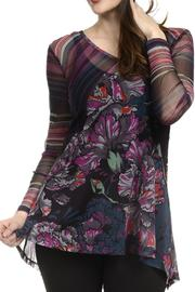 Lynn Ritchie Mixed Print Tunic - Product Mini Image