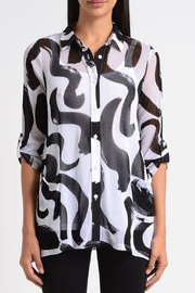 Lynn Ritchie Squiggle Flare Tunic - Product Mini Image