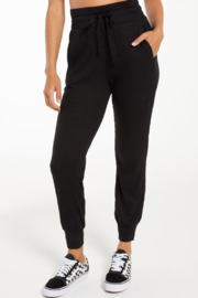 z supply Lyric Soft Rib Jogger - Front cropped