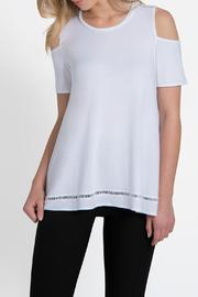 Lyssé Mira Cold Shoulder Top - Product Mini Image