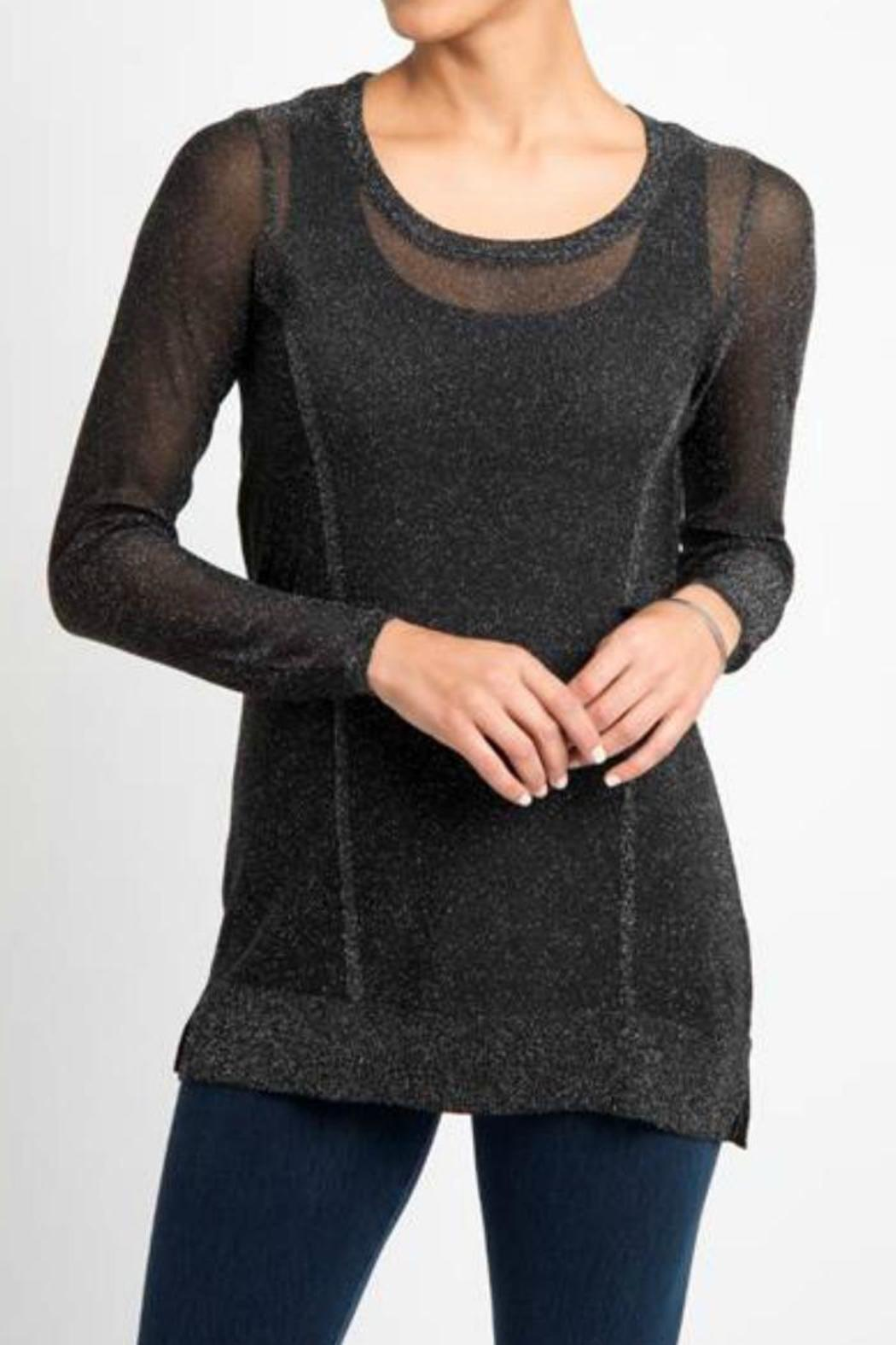 Lysse Sparkle Sweater - Front Cropped Image