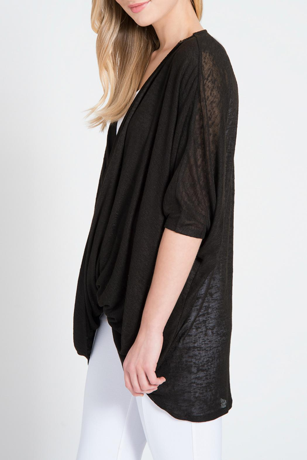 Lyssé Twist Pullover Top - Front Full Image