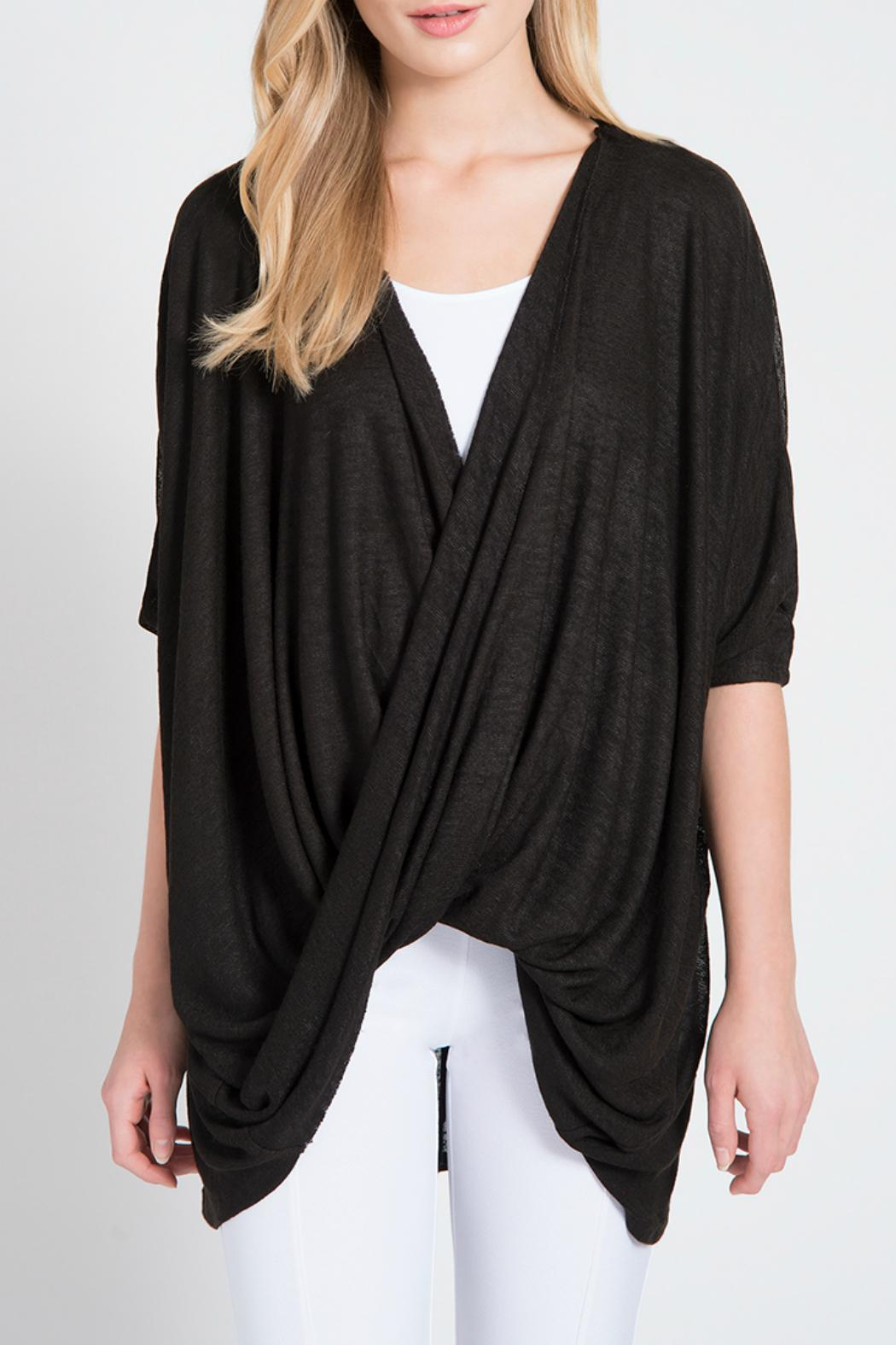 Lyssé Twist Pullover Top - Front Cropped Image