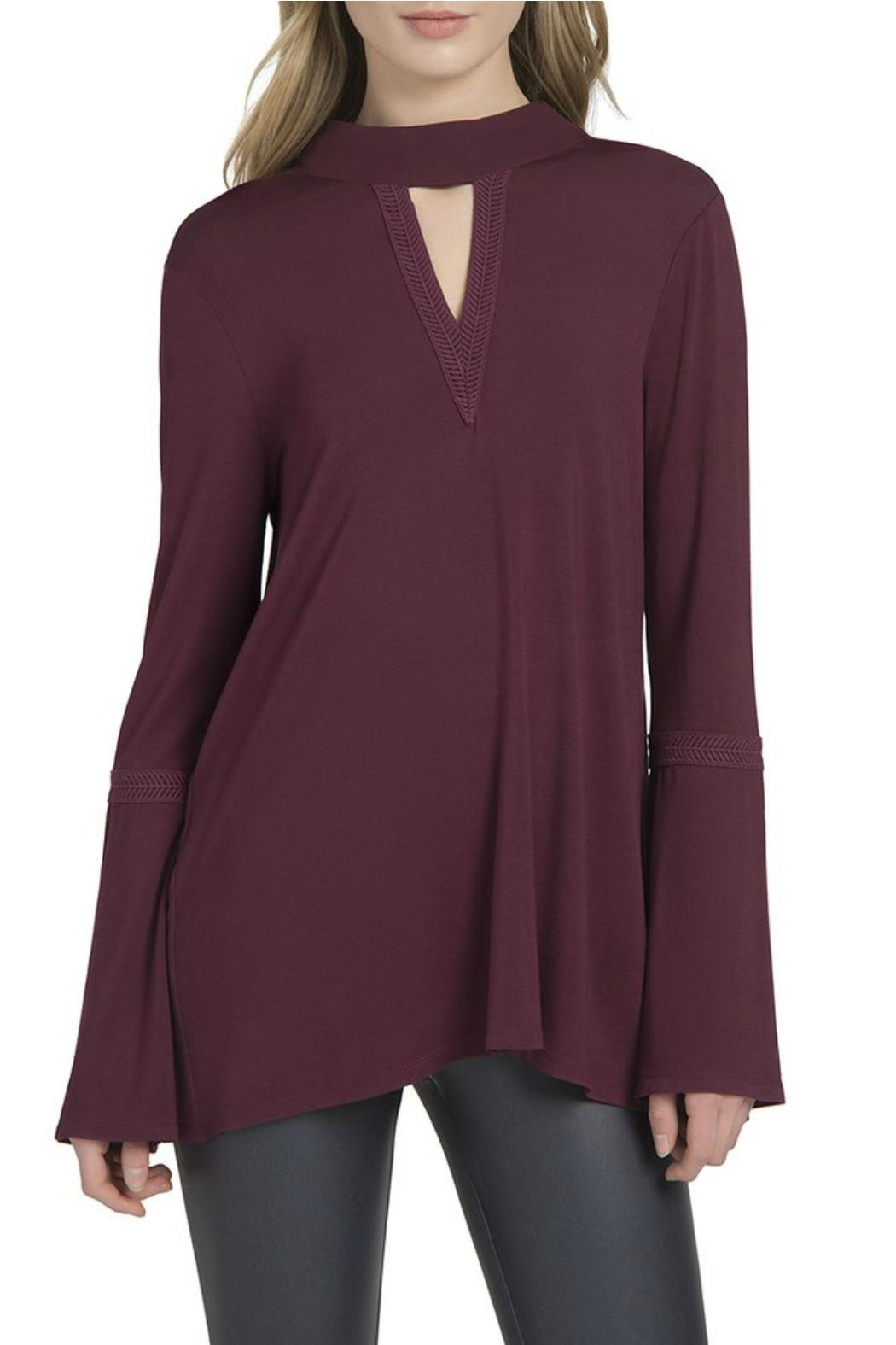 Lysse Ainsley Bell-Sleeve Top - Front Cropped Image