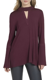 Lysse Ainsley Bell-Sleeve Top - Front cropped