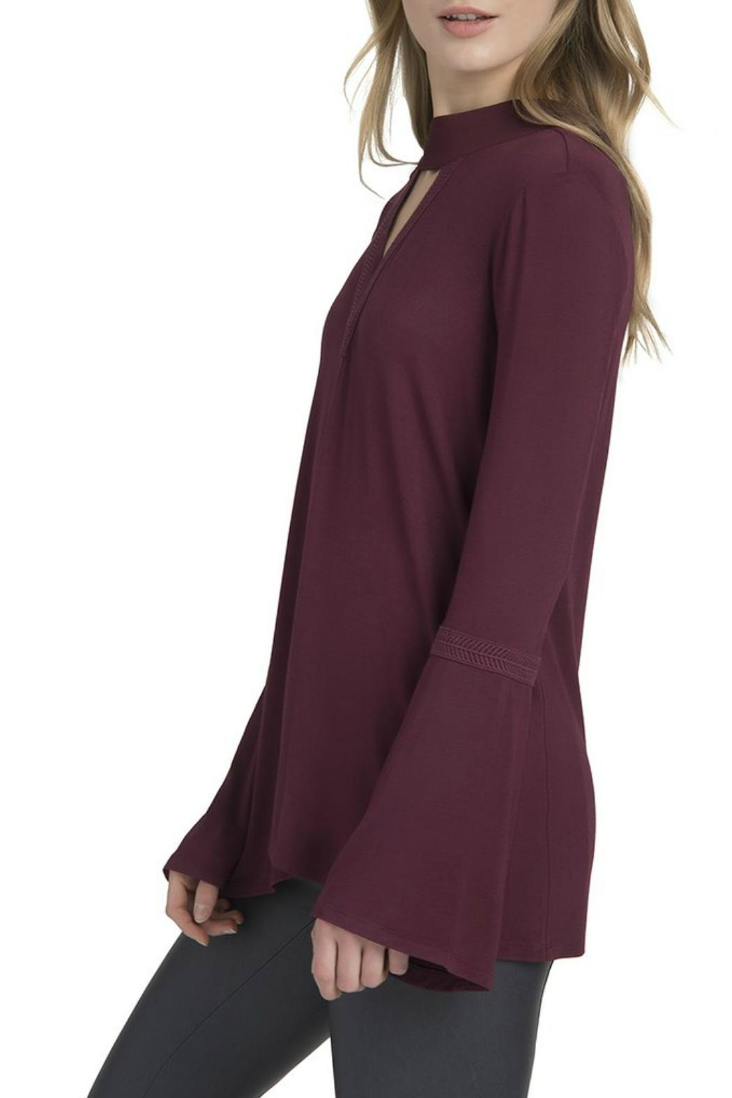 Lysse Ainsley Bell-Sleeve Top - Front Full Image