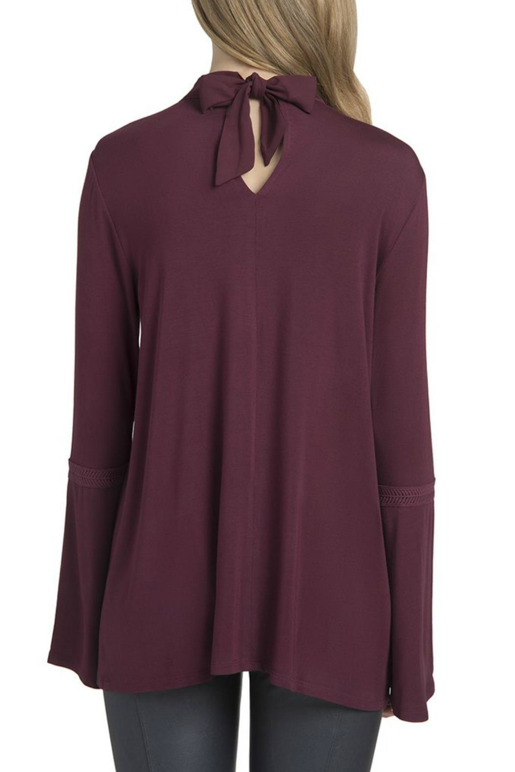 Lysse Ainsley Bell-Sleeve Top - Side Cropped Image